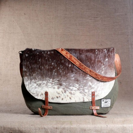 WILL LEATHER GOODS / Hair On Messenger