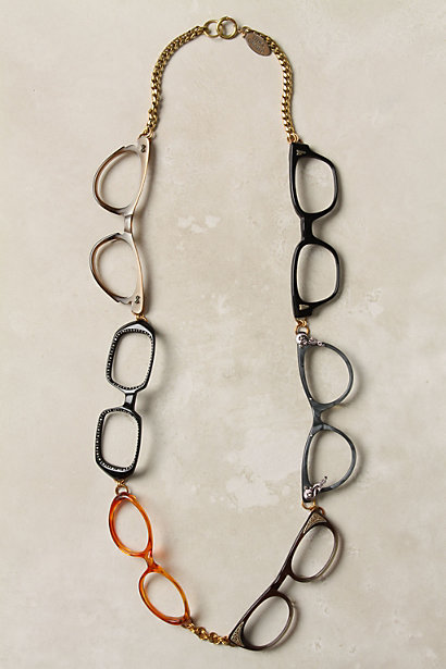 Quite A Spectacle Necklace - Anthropologie.com