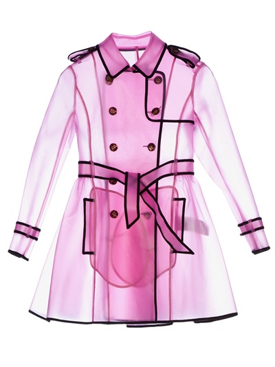 Red Valentino Sheer Rain Trench Coat - L'Eclaireur - farfetch.com