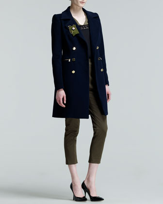 Military-Inspired Style From Givenchy, Prabal Gurung, Ralph Lauren, Gianvito Rossi, and More