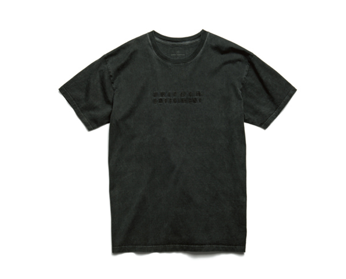 uniform experiment | PRODUCT | OVER DYE TEE (EMBROIDERY LOGO)