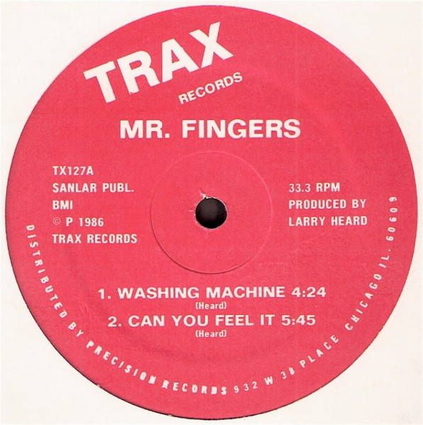 Images for Mr. Fingers - Washing Machine / Can You Feel It