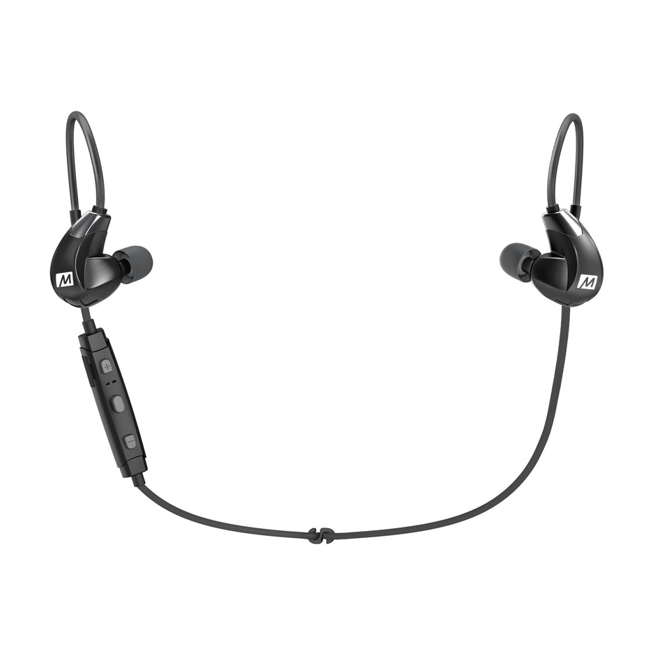 X7 Plus Stereo Bluetooth Wireless Sports In-Ear HD Headphones with Memory Wire - MEE audio