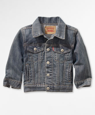 Levi's Toddler Boys Trucker Jacket - Captain - Toddler Boys