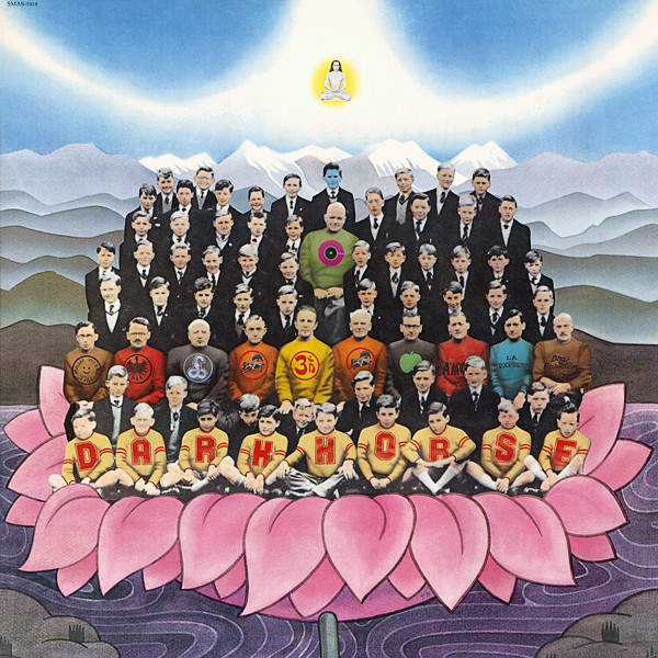 No4Ko4 Record and CD Cover Gallery » Dark Horse / George Harrison