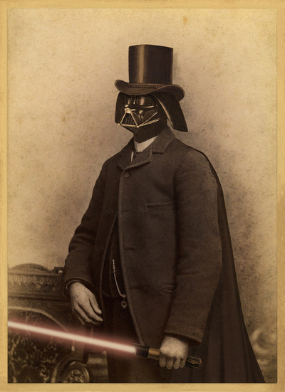Victorian Vader Art Print by Terry Fan | Society6