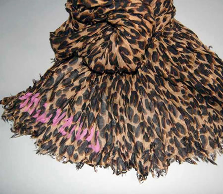 Get your hands on the Limited Louis Vuitton Stephen Sprouse Leopard Scarf before it is fully sold out | Gizmodiva.com