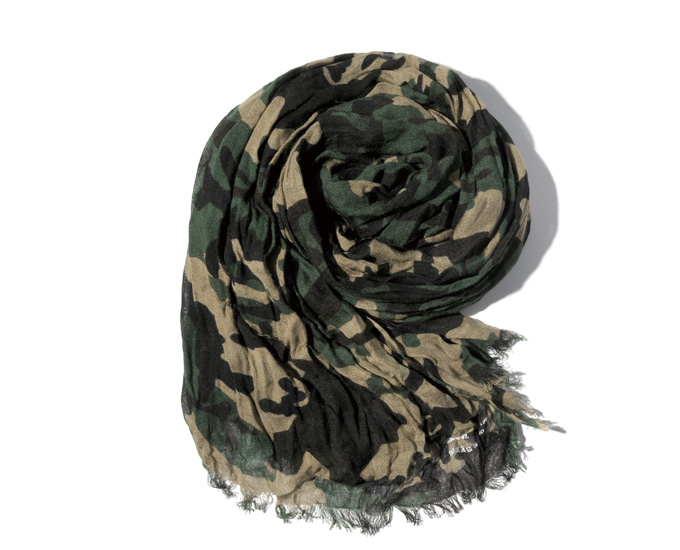 SOPHNET.   PRODUCT   CAMOUFLAGE STOLE