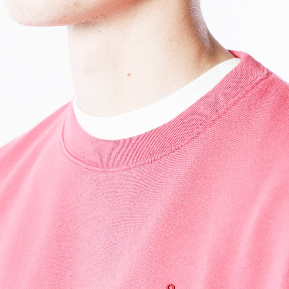 SOPH. | FRUIT OF THE LOOM AUTHENTIC CREW NECK SWEAT(M PINK):