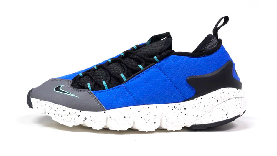 "AIR FOOTSCAPE NM ""LIMITED EDITION for NSW BEST"" BLU/BLK/GRY/E.GRN ナイキ NIKE 