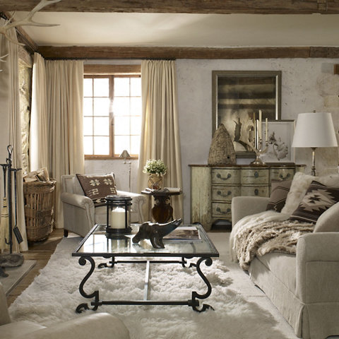 Alpine Lodge Cocktail Table - Furniture - Products - Products - Ralph Lauren Home - RalphLaurenHome.com