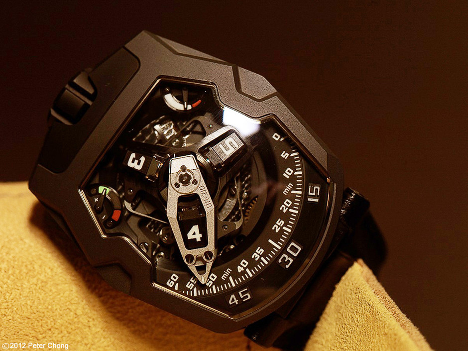 Watchscapes: High Resolution Photography by Peter Chong: Urwerk UR210: black or white?