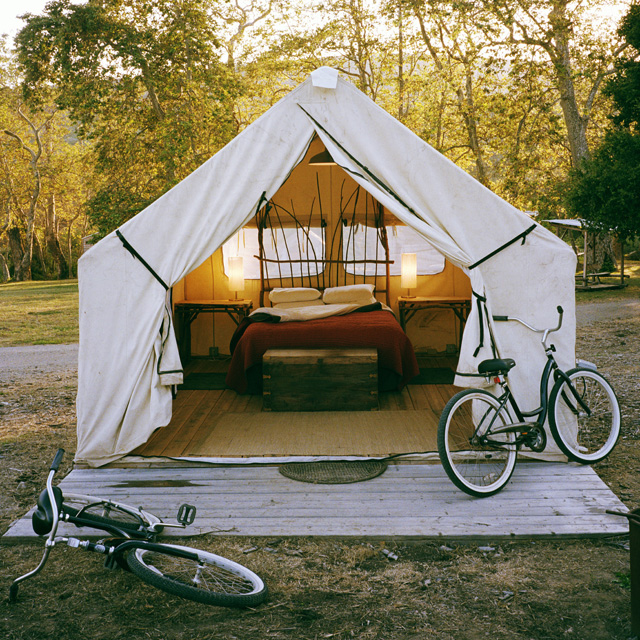 Fancy - Safari Tent Camping @ El Capitan Canyon
