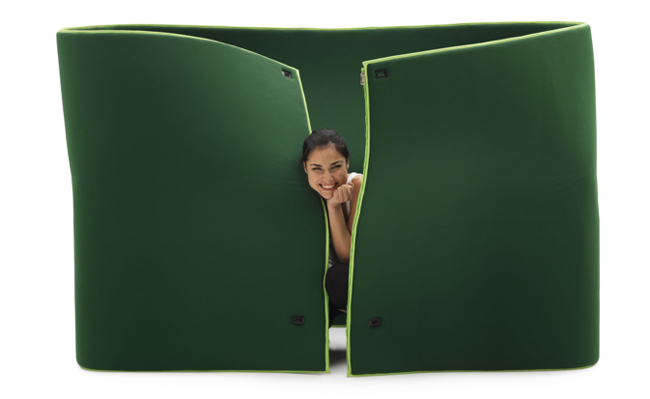 If Gumby Were A Shape-Shifting Sofa, Here's How He'd Look | Co.Design: business + innovation + design