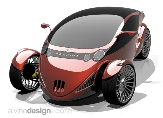 Proxima Vehicle Seeks to Merge Car and Motorcycle - NerdBeach