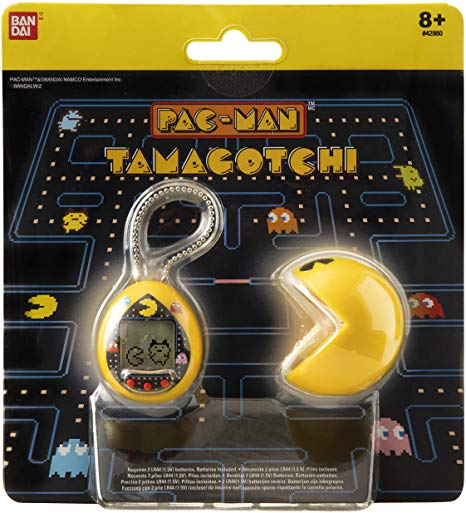 BANDAI 42861 Tamagotchi Nano-Pac-Man Yellow Version with Case-Feed, Care, Nurture, with Chain for on The go Play-Electronic Pets: Amazon.co.uk: Toys & Games
