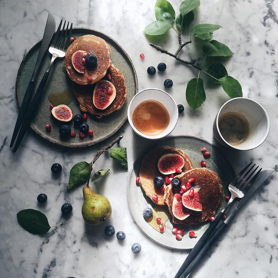 Our Food StoriesさんはInstagramを利用しています:「This morning started with beautiful sunlight and glutenfree pancakes for breakfast. Have a good day everyone!」
