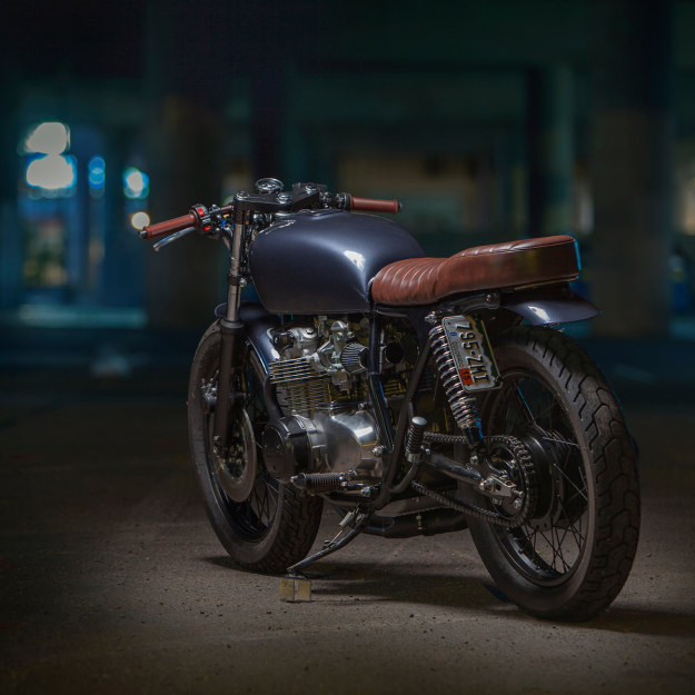 Backyard build: Dave Lehl's Honda CB550 | Bike EXIF