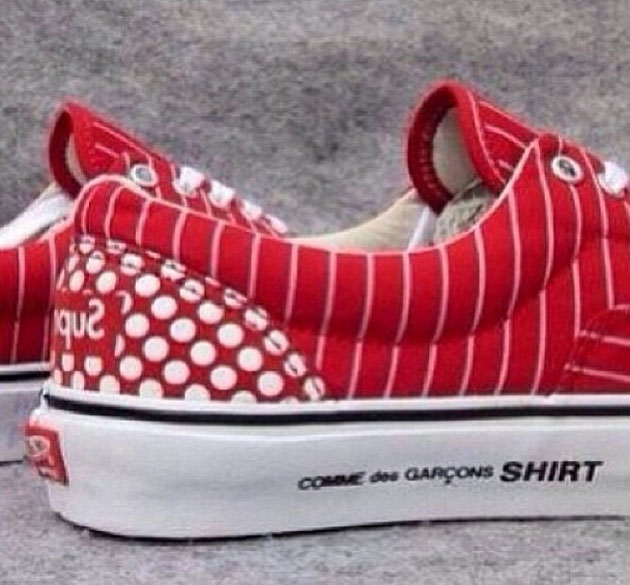 NEWS:2014 Supreme x VANS x COMME des GARCONS SHIRT HAROLD HUNTER|コムデギャルソン店舗マップ