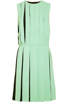 Versus | Pleated crepe dress | NET-A-PORTER.COM