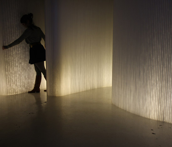 Style Collective - Molo softwall + softblock modular system with LED lighting