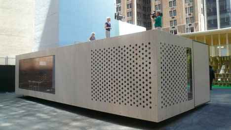 First Pix of Home Delivery Prefabs in New York : TreeHugger
