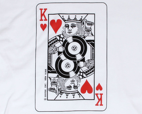 BBP ONLINE STORE - King Loves Vinyl Tee