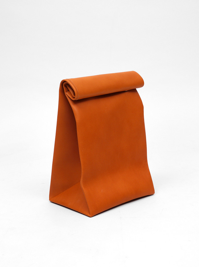 Antiatoms Leather Bag Roll Top | Present London