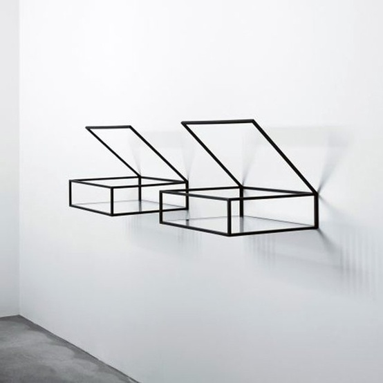Open Box Shelves by Ron Gilad