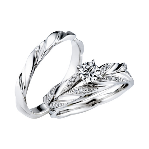 STAR JEWELRY  Feather(0.20ct 291600): 婚約指輪