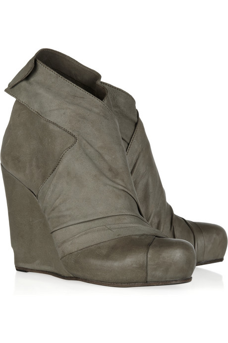 LD Tuttle The Empty leather ankle boots - My Color Fashion