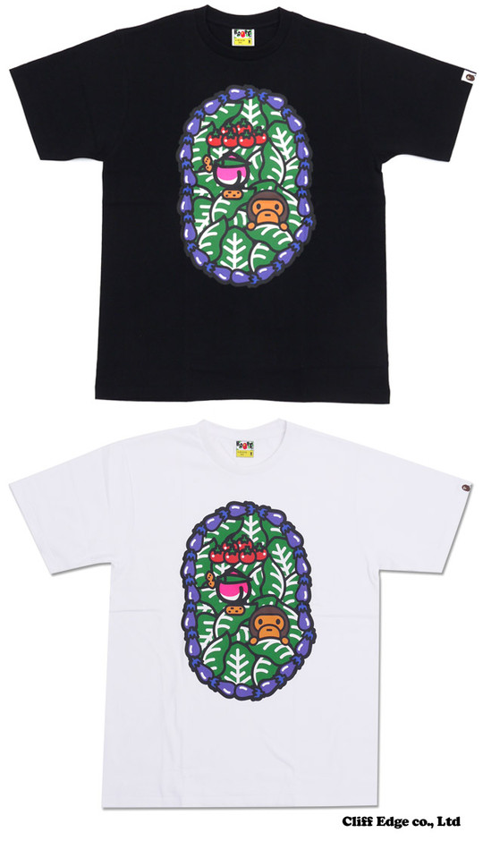 【楽天市場】A BATHING APE MILO VEGITABLE TEE (Tシャツ) 200-005630-041(2080-110-109)-【新品】:Cliff Edge