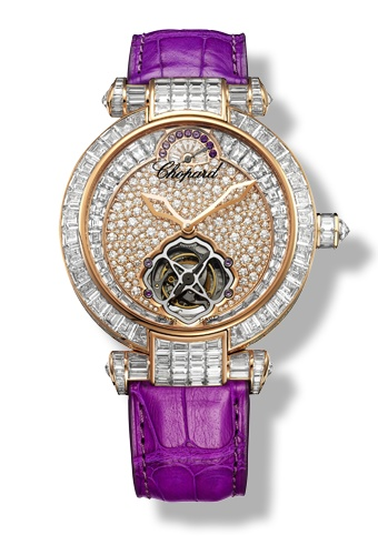 { Accessories } / Chopard - IMPERIALE Watch - 18-carat rose gold - amethysts