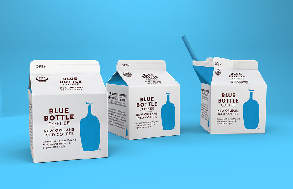 Blue Bottle Coffee on Packaging of the World - Creative Package Design Gallery