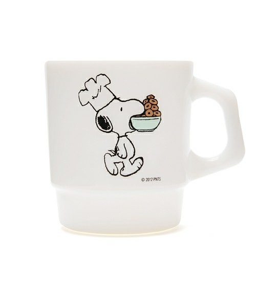 "HAND IN HAND / Fire King STACKING MUG ""CAFE/SNOOPY""(グラス・マグカップ) - ZOZOVILLA"
