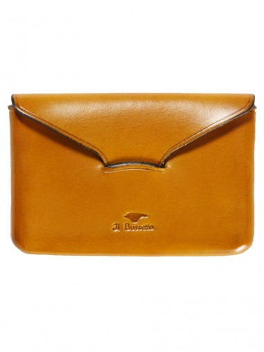 Il Bussetto Business Card Holder Yellow Leather | Bags & Wallets - Other Brands - Il Bussetto Wallets
