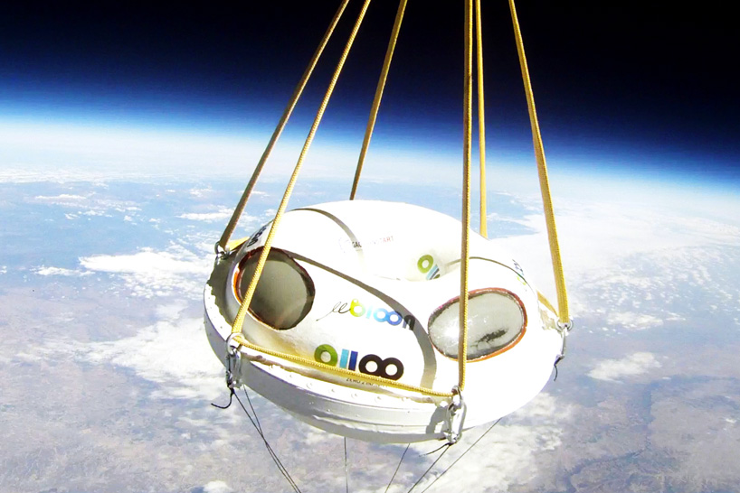 bloon balloon for near-space travel