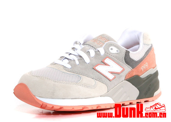"""round about: New Balance 999 """"Cherry Blossom Pack"""" – Salmon Pink"""