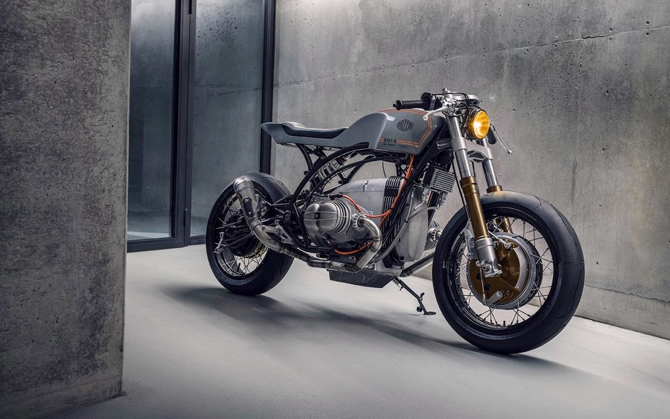TITLE FIGHTER. A BMW R80 Neo-Racer from Nozem Amsterdam - Pipeburn.com