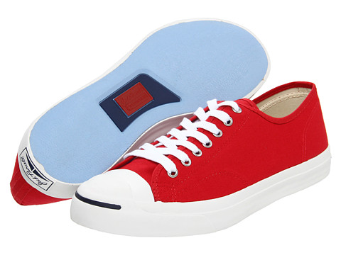 Converse Jack Purcell® Seasonal Ox Red Core Duck Canvas - Zappos.com Free Shipping BOTH Ways