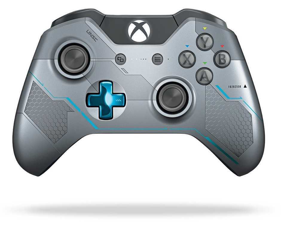 Amazon.com: Xbox One Limited Edition Halo 5: Guardians Wireless Controller: Video Games