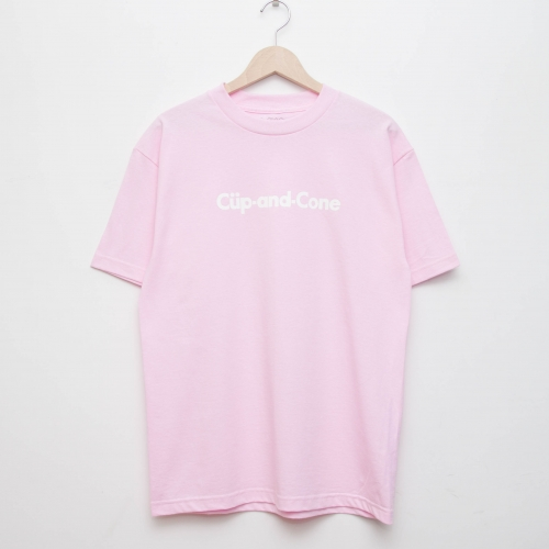 Ice Cream Tee - Peach - cup and cone WEB STORE