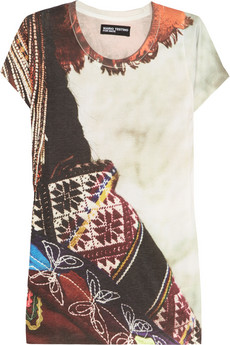 MARIO TESTINO FOR MATE | Pisac cotton-blend jersey T-shirt | NET-A-PORTER.COM