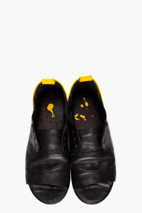 Marsell Yellow Heeled Leather Flats for women