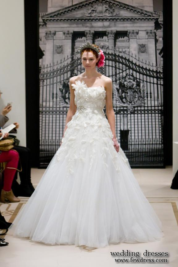 Spring 2012 Wedding Gowns of Reem Acras Models - fashion cheap wedding dresses & cocktail dresses 2011
