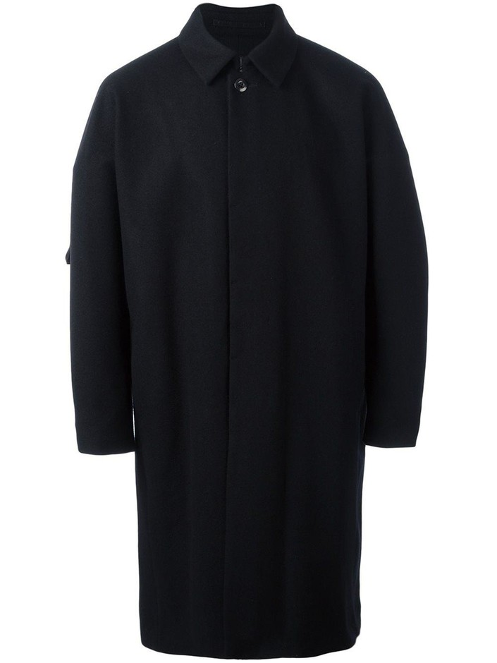 Attachment Concealed Fastening Coat - Excelsior Milano - Farfetch.com