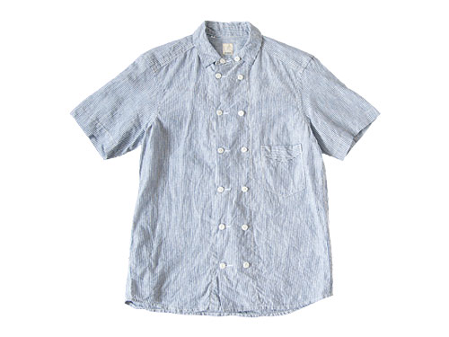 【別注】 TATAMIZE DOUBLE BRESTED LINEN S/S SHIRTS