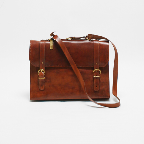 MUNOZ VRANDECIC doctor's bag brown | PLAGUESEARCH