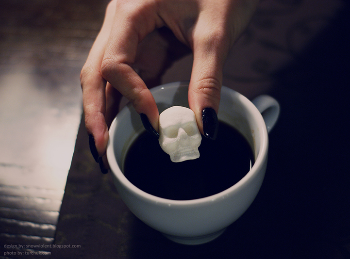 Incredibly Detailed Skull-and-Bones Sugar Cubes - My Modern Metropolis