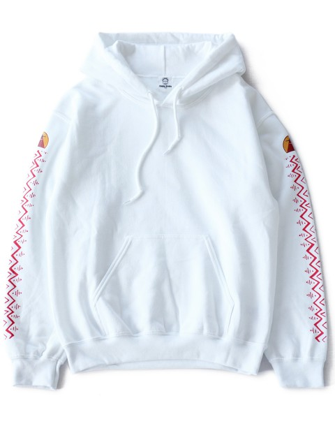 LOVE online store|MEN | ...and More  Print Sweat Parka (white)